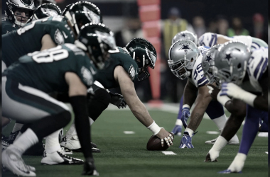 Las lineas defensivas/ofensivas de los Eagles y Cowboys ya estan listas para la temporada 2019 (foto Eagles.com)