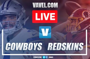 Touchdowns and highlights: Dallas Cowboys 31-21 Washington Redskins