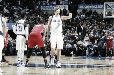 Dirk Nowitzki fue clave en el planteo de Rick Carlise. Foto: gentileza de Dallas Mavericks