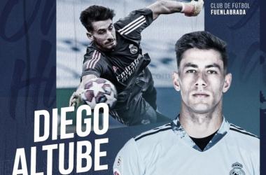 Primera salida de Ancelotti: Diego Altube, cedido al Fuenlabrada