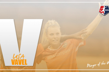 Houston's Rachel Daly wins player of the week