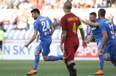 Benassi e Simeone trascinano la Fiorentina: Roma battuta 0-2 ed Europa League meno lontana
