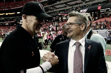 Atlanta Falcons renuevan el contrato de Quinn y Dimitroff