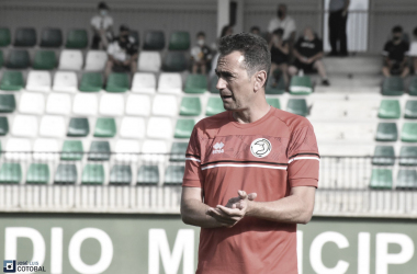 Dani Mori, entrenador de Unionistas. Foto: José Luis Cotobal