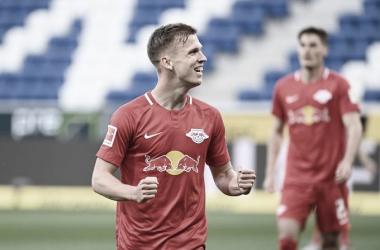 RB Leipzig resolve no primeiro tempo, vence Hoffenheim e encosta no Dortmund