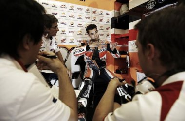 Dani Pedrosa saldrá mañana desde la segunda fila de la parrilla // FOTO: Repsol Honda Team