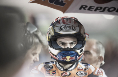 Dani Pedrosa durante el Gran Premio de Qatar | Mirco Lazzari