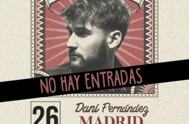 "Dani Fernández ""incendia"" España con su gira"