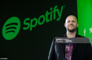 Daniel Ek, chief executive officer and co-founder of Spotify AB, stands for a photograph after a news conference in Tokyo, Japan, on Thursday, Sept. 29, 2016. Spotify Ltd. is bringing its popular online music service to Japan, a large and lucrative market where fans have demonstrated a continuing fondness for CDs and even vinyl records. Photographer: Akio Kon/Bloomberg via Getty Images