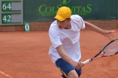 Daniel Galan, obtuvo su segundo título profesional en el torneo de Bogotá Foto: Primer Set- Colombia