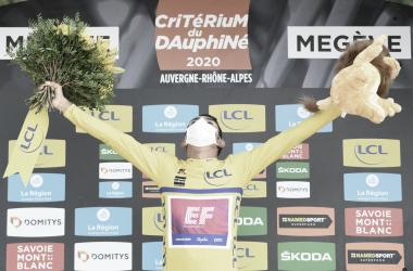 Daniel Martínez se coronó campeón del Critérium del Dauphiné 2020