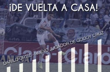 Así lo recibía la cuenta oficial del club. FOTO: Prensa Godoy Cruz.