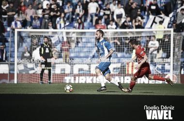 Sergi Darder ante el Sevilla FC (Foto: Noelia Déniz)