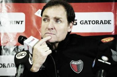 Darío Franco, técnico de Colón de Santa Fe. FOTO: Sol 91.5