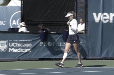 Britânica segue à segunda rodada (Foto: Reprodução/WTA)