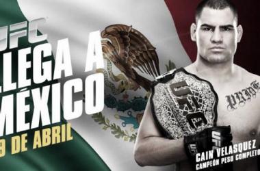 Siga el anuncio de UFC en México