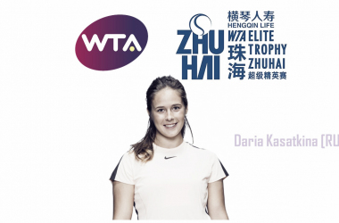 Daria Kasatkina will be the top seed in Zhuhai | Edit: Don Han