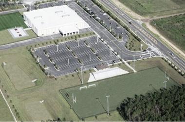 Vista de aérea da casa do clube na Flórida: (Foto: Divulgação / Internacional)