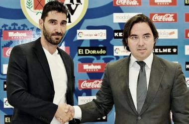 David Cobeño en su presentación como Director Deportivo | Fotografía: Rayo Vallecano