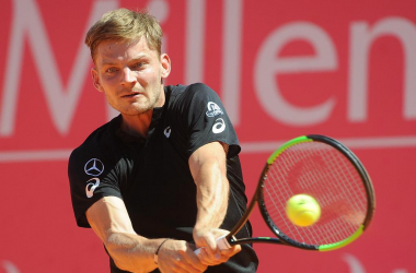 David Goffin en route to the quarterfinals. (Photo by Millennium Estoril Open)