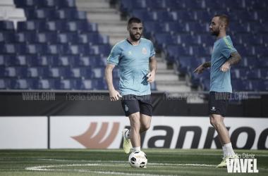 David López se reincorpora a los entrenamientos