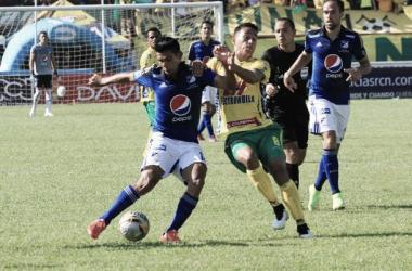 Silva y Agudelo marcaron para los azules.