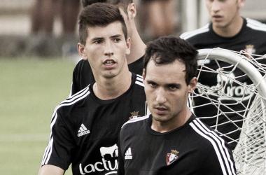 David y Unai García | Foto: Osasuna