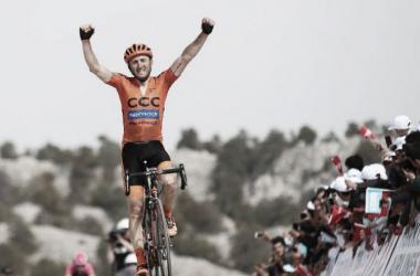 Davide Rebellin (CCC) se impone en la etapa reina del Tour de Turquía. | Fuente: Tour de Turquía