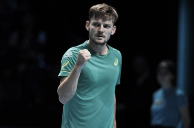 David Goffin would be pleased with his performance today. It has been quite an incredible run for the Belgian | Photo: Thomas Lovelock / ATP World Tour