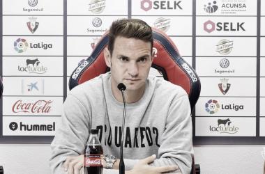 """David Rodríguez: """"Jugar dos partidos en casa y ganar los dos es muy complicado"""""""