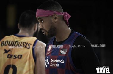 Fotografía de Brandon Davies FC Barcelona - Herbalife Gran Canaria / Foto: Noelia Déniz (VAVEL)