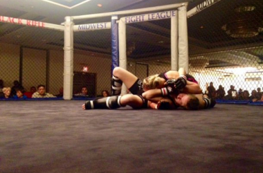 Codie Wareham out of Fairbanks Alaska with a submission victory / Travis Brown