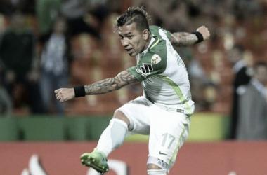 Dayro Moreno buscará 'afilar' su puntería y darle más puntos a Nacional. | Foto: AFP