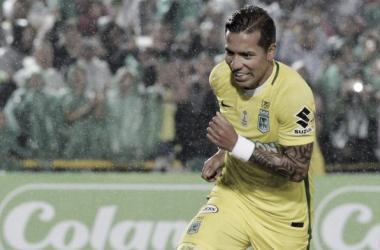 Dayro Moreno: en su pie derecho estuvo el primer gol / Foto: ZonaCero