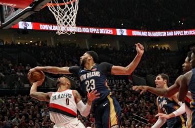 NBA - Più Davis di Lillard, gara 1 è dei Pelicans. Fonte: New Orleans Pelicans Twitter
