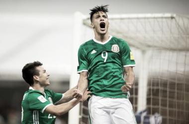 Raúl Jiménez sentenció el resultado | Foto: AS México