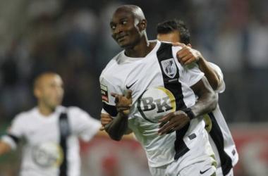 Maâzou é a grande esperança da diretoria do Guimarães para substituir o artilheiro Baldé negociado com o Celtic-ESC (foto:Reprodução/desporto.pt.msn.com)