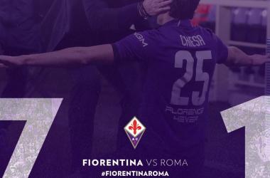 Coppa Italia - Uragano Viola: la Fiorentina trascinata da Chiesa travolge 7-1 la Roma e va in semifinale