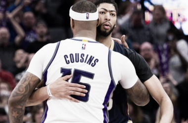 Boogie and The Brow are now teammates. Photo: USA-TODAY Sports
