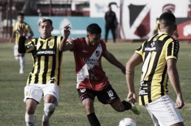 El partido se jugó en el Estadio Omar Higinio Sperdutti.<div>Gentileza: @deportivomaipuoficial</div>