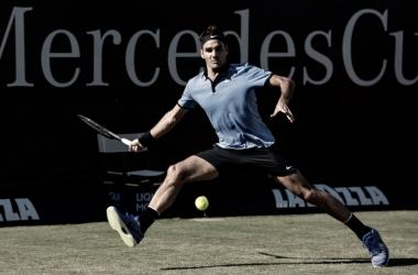 Roger Federer utilizó el mismo conjunto que la temporada anterior para este mismo torneo. | Foto: Prensa Mercedes Cup