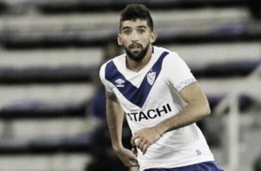 En la Superliga integró la dupla central junto a Griilo y Giannetti en el segundo semestre | Foto: Vélez Sarsfield