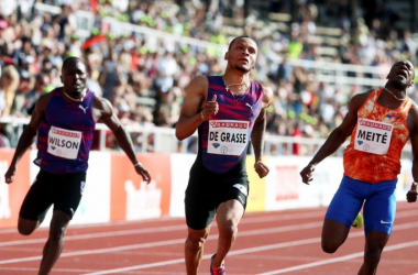 Diamond League 2017 - Stoccolma: De Grasse e un 100 ventoso. Vincono Manyonga e Lasitskene - Foto: IAAF Diamond League - Twitter