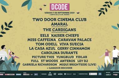 Cartel del festival DCODE | Twitter oficial DCODE Festival