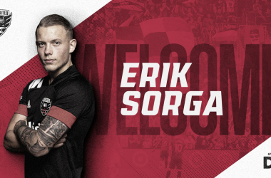 Erik Sorga firma por DC United