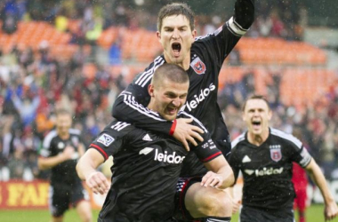New York Red Bulls - DC United Live of 2014 MLS Cup Playoffs