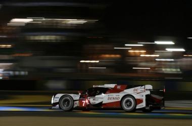 Toyota look supreme so far. | Photo: Twitter/Toyota WEC Team