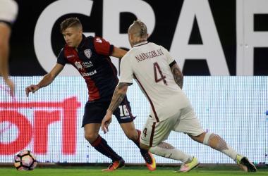Roma, con il Cagliari per dimenticare il Liverpool e blindare la Champions League | Twitter Cagliari Calcio