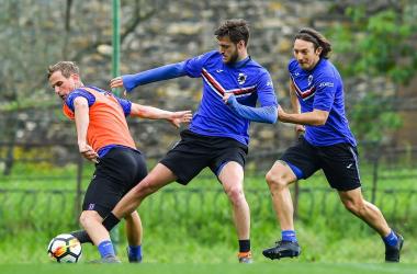 Sampdoria, tra mercato e campo: Praet in partenza; per il Sassuolo c'è Quagliarella | Twitter Sampdoria