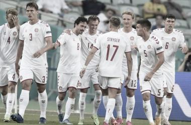 República Checa - Dinamarca, puntuaciones de Dinamarca en los cuartos de final de la Eurocopa 2020